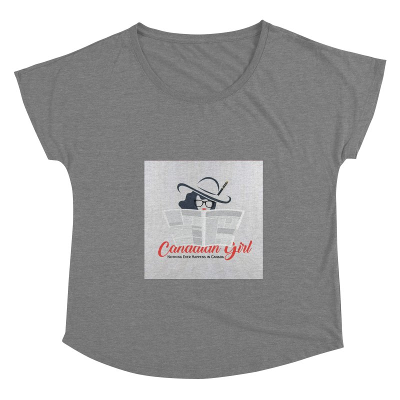 Women in Writing Women's Scoop Neck by The Nothing Canada Souvenir Shop