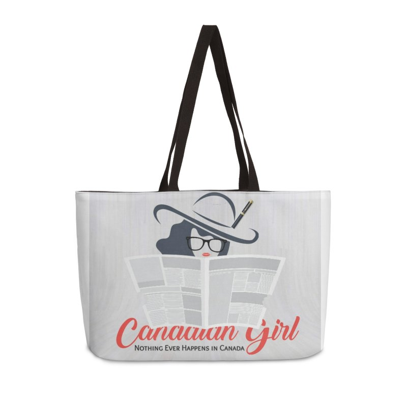 Women in Writing Accessories Weekender Bag Bag by The Nothing Canada Souvenir Shop