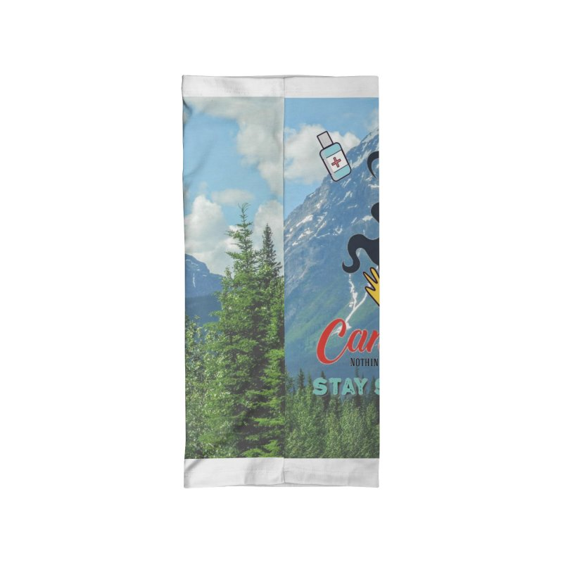 Stay Safe Masks and Stickers Accessories Neck Gaiter by The Nothing Canada Souvenir Shop