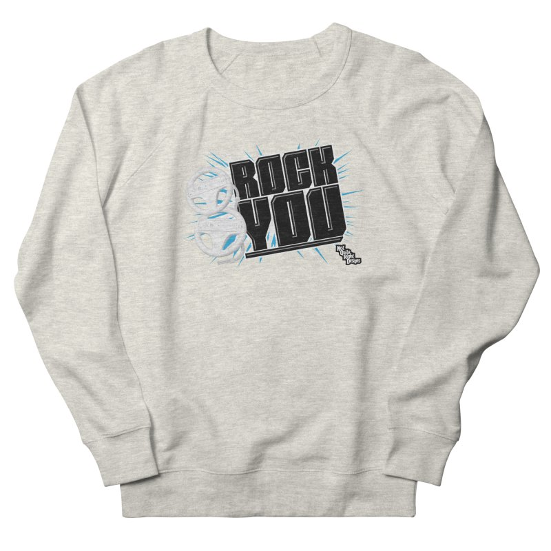 Wii Wheel Wii Wheel Rock You Men's Sweatshirt by NotQuiteRightDesigns