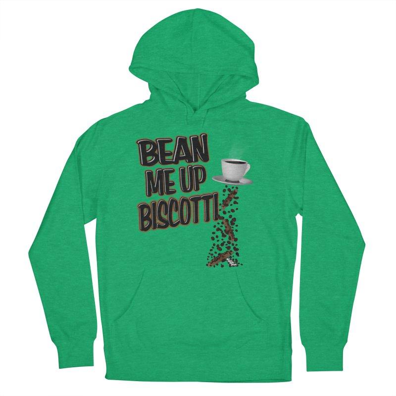 BEAN ME UP BISCOTTI Women's Pullover Hoody by NotQuiteRightDesigns