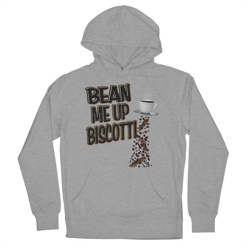 BEAN ME UP BISCOTTI Men's Pullover Hoody by NotQuiteRightDesigns