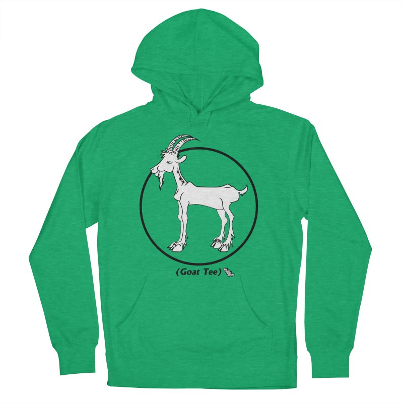 GOAT TEE Men's Pullover Hoody by NotQuiteRightDesigns