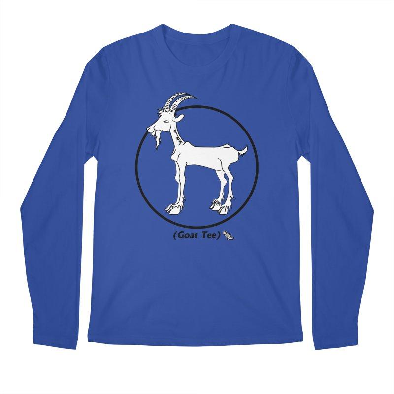 GOAT TEE Men's Longsleeve T-Shirt by NotQuiteRightDesigns