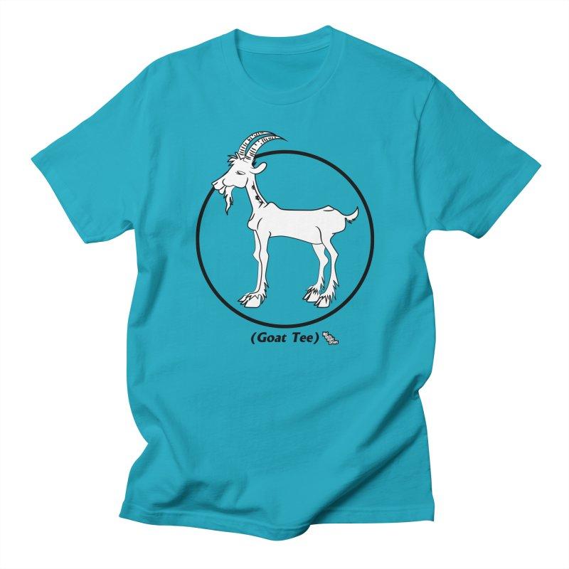 GOAT TEE Men's T-shirt by NotQuiteRightDesigns