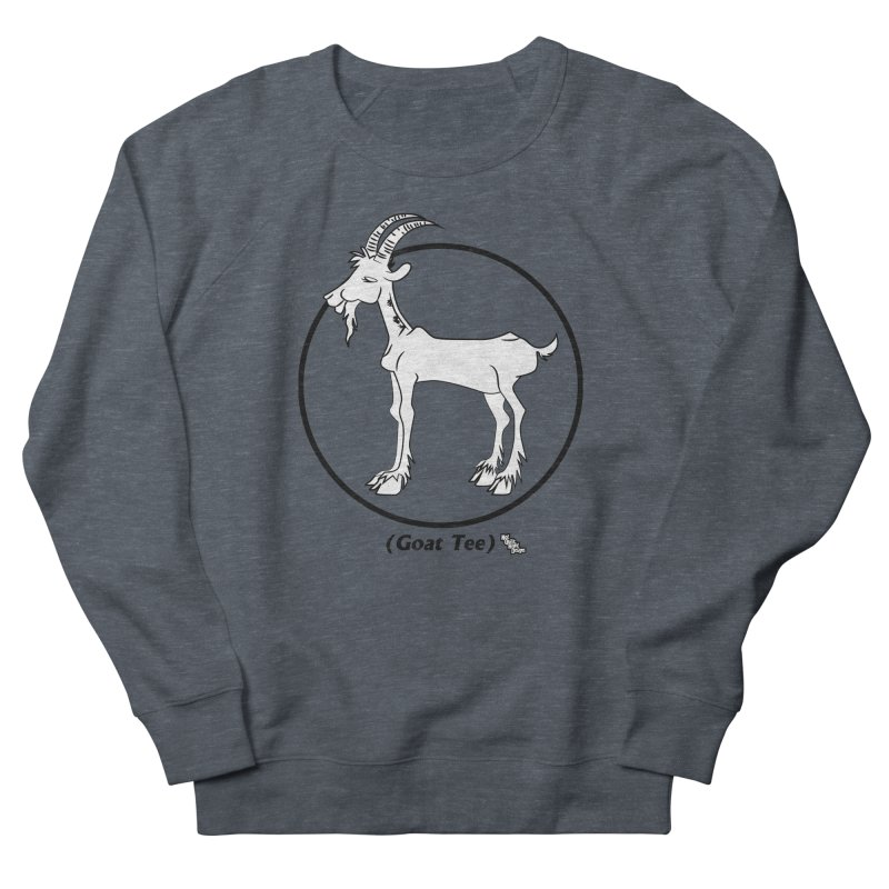 GOAT TEE Men's Sweatshirt by NotQuiteRightDesigns