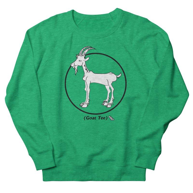 GOAT TEE Men's Sweatshirt by NotQuiteRightDesigns