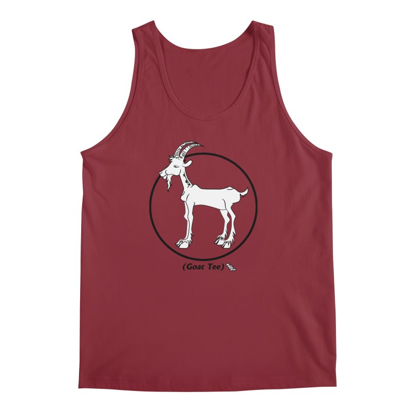 GOAT TEE Men's Tank by NotQuiteRightDesigns