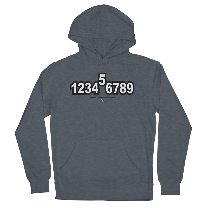 HIGH FIVE Men's Pullover Hoody by NotQuiteRightDesigns