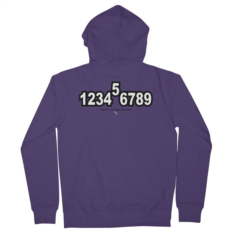 HIGH FIVE Women's Zip-Up Hoody by NotQuiteRightDesigns