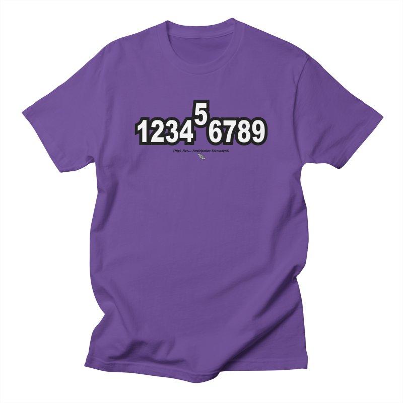 HIGH FIVE Men's T-Shirt by NotQuiteRightDesigns