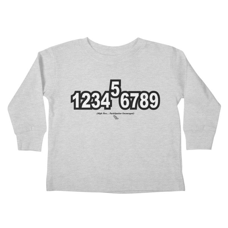 HIGH FIVE Kids Toddler Longsleeve T-Shirt by NotQuiteRightDesigns