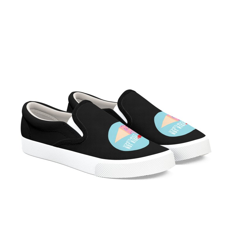 Something's Not Right logo Women's Slip-On Shoes by Something's Not Right