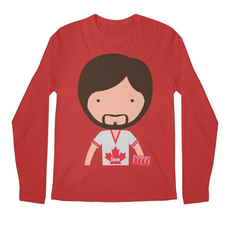 Internet Steve Men's Regular Longsleeve T-Shirt by Something's Not Right