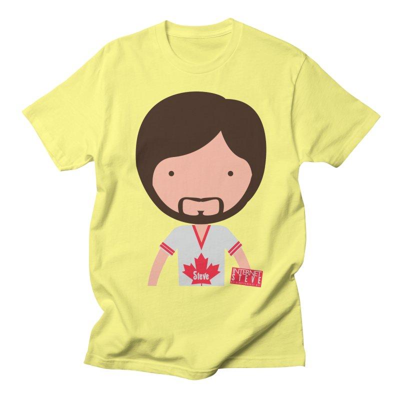Internet Steve Men's Regular T-Shirt by Something's Not Right