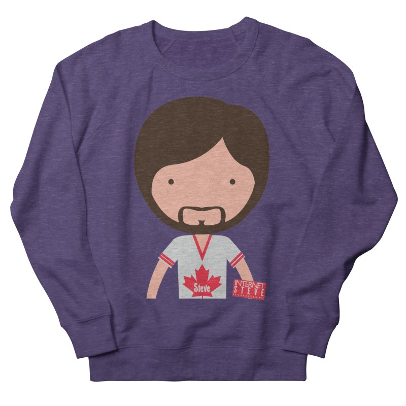 Internet Steve Women's French Terry Sweatshirt by Something's Not Right