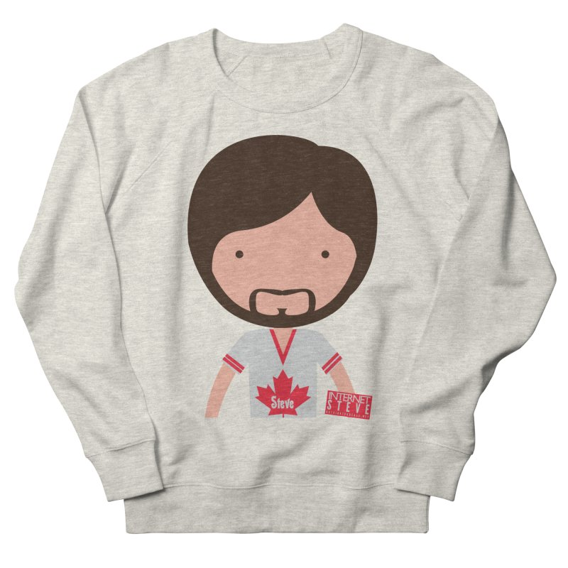 Internet Steve Men's French Terry Sweatshirt by Something's Not Right