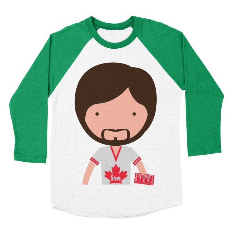 Internet Steve Men's Baseball Triblend Longsleeve T-Shirt by Something's Not Right