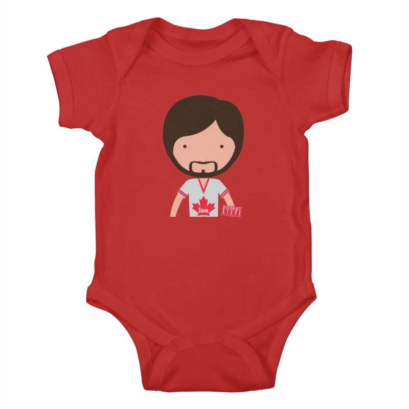 Internet Steve Kids Baby Bodysuit by Something's Not Right