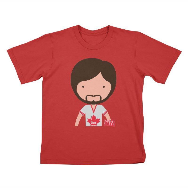 Internet Steve Kids T-Shirt by Something's Not Right