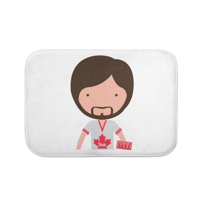 Internet Steve Home Bath Mat by Something's Not Right