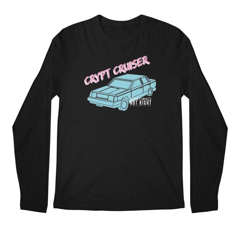 Crypt Cruiser 1 Men's Regular Longsleeve T-Shirt by Something's Not Right