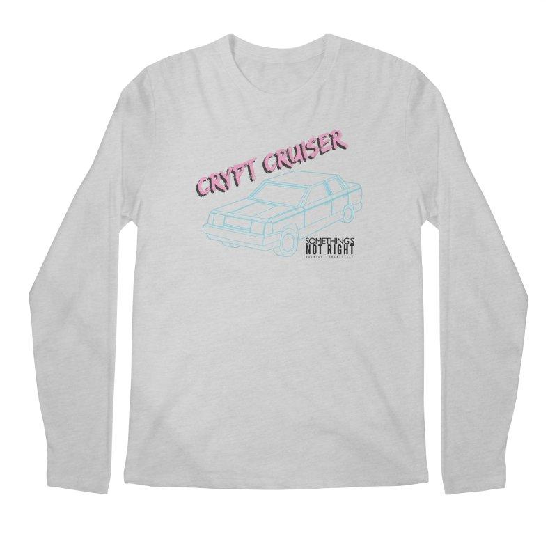 Crypt Cruiser 2 Men's Regular Longsleeve T-Shirt by Something's Not Right