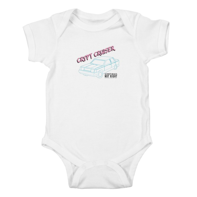 Crypt Cruiser 2 Kids Baby Bodysuit by Something's Not Right