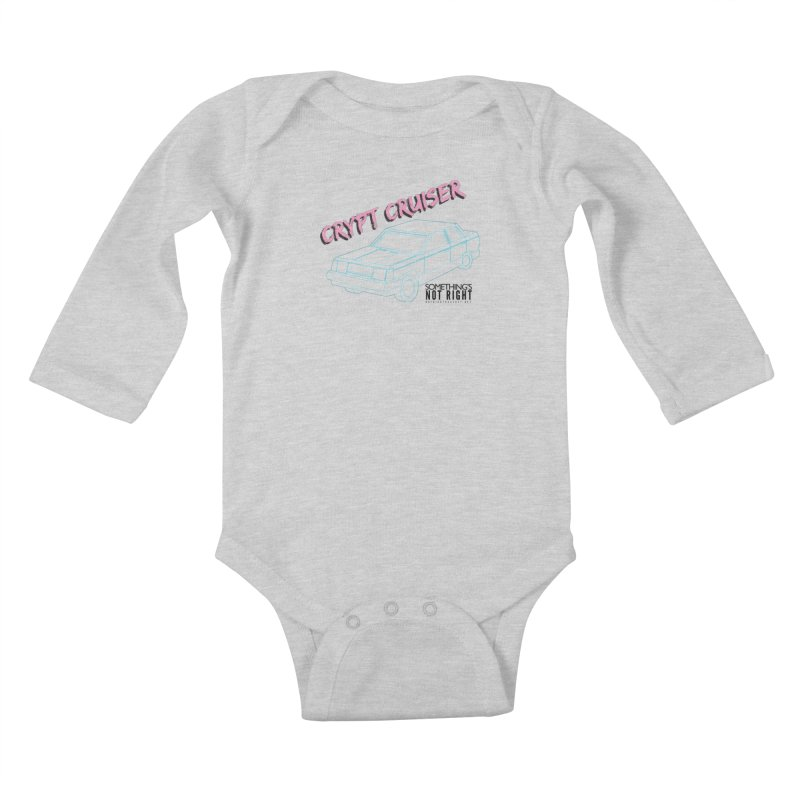 Crypt Cruiser 2 Kids Baby Longsleeve Bodysuit by Something's Not Right