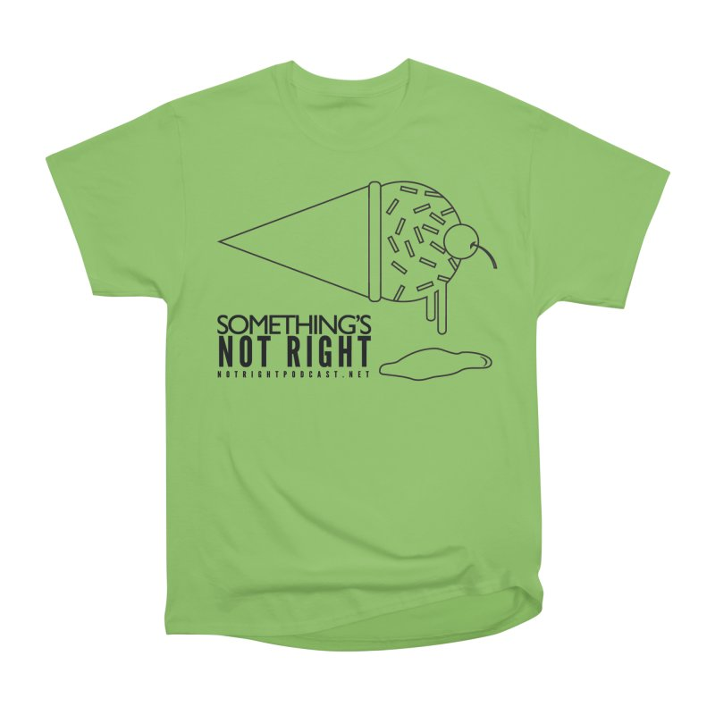 SNR Alternate Logo - Black Women's Heavyweight Unisex T-Shirt by Something's Not Right