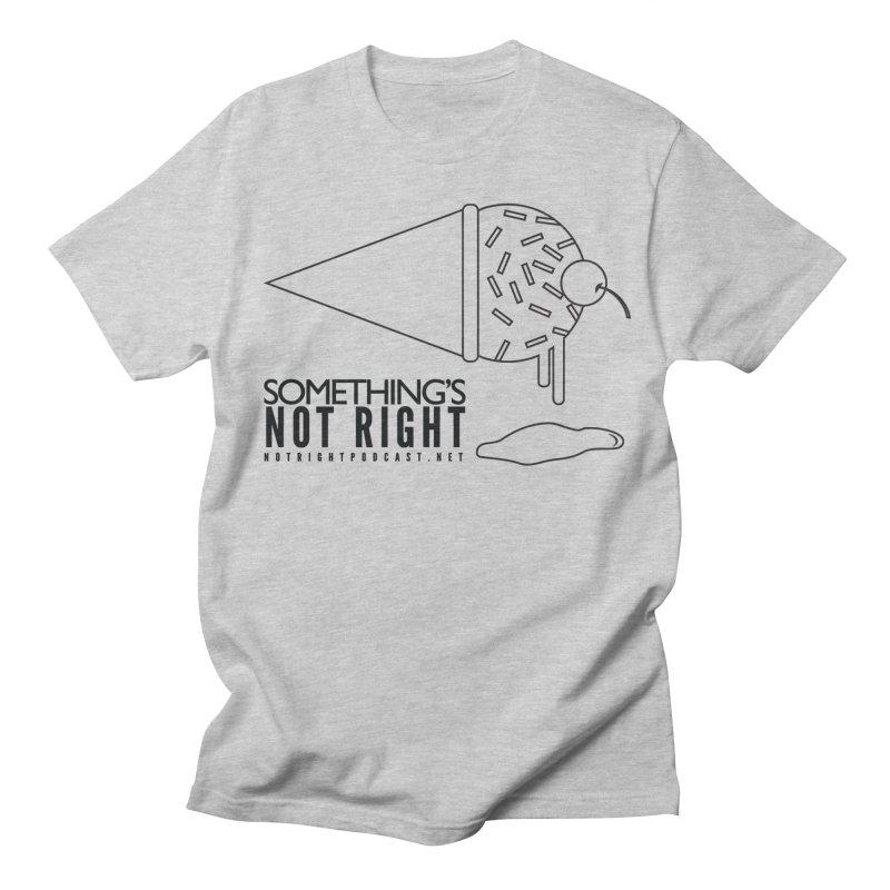 SNR Alternate Logo - Black Women's Regular Unisex T-Shirt by Something's Not Right