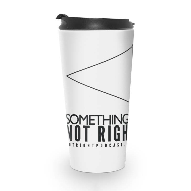 SNR Alternate Logo - Black Accessories Travel Mug by Something's Not Right