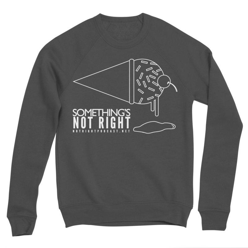 SNR - Alternative Logo - White Women's Sponge Fleece Sweatshirt by Something's Not Right