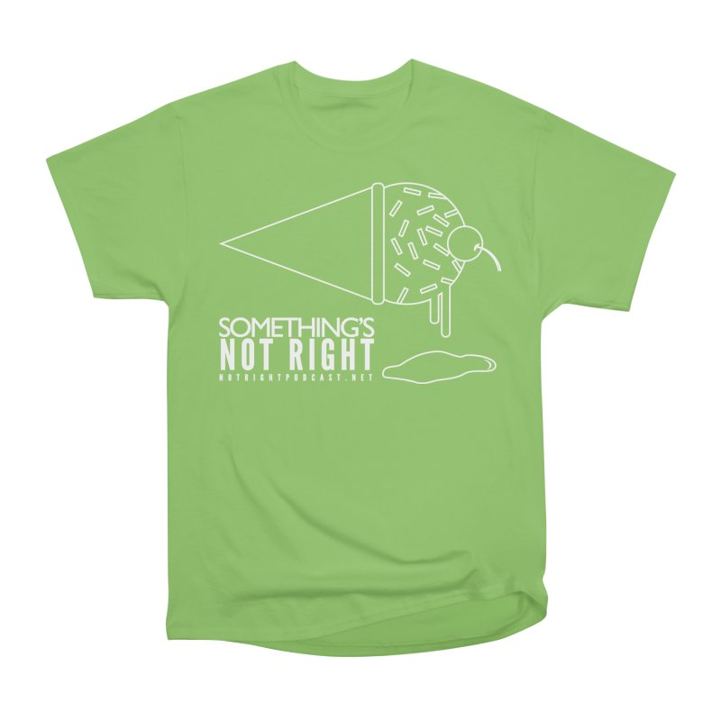 SNR - Alternative Logo - White Women's Heavyweight Unisex T-Shirt by Something's Not Right