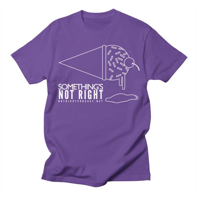 SNR - Alternative Logo - White Women's Regular Unisex T-Shirt by Something's Not Right