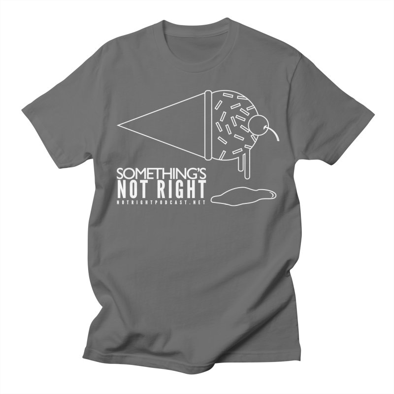 SNR - Alternative Logo - White Men's T-Shirt by Something's Not Right