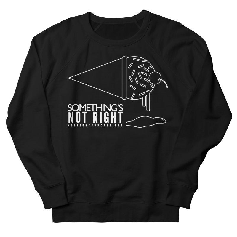 SNR - Alternative Logo - White Women's French Terry Sweatshirt by Something's Not Right