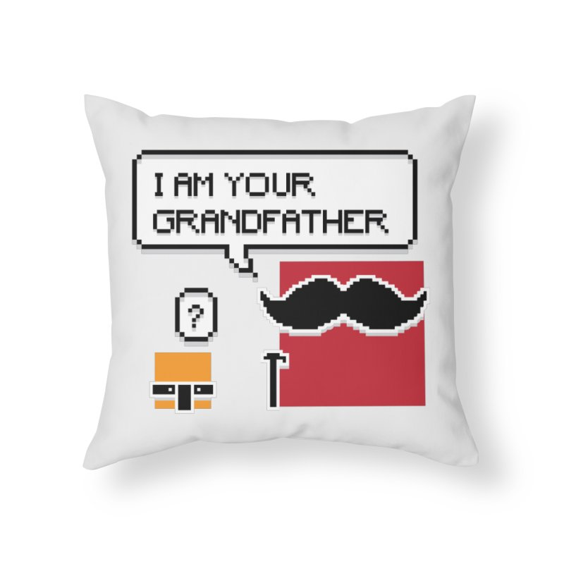 Says Megapixel Home Throw Pillow by Vectoran
