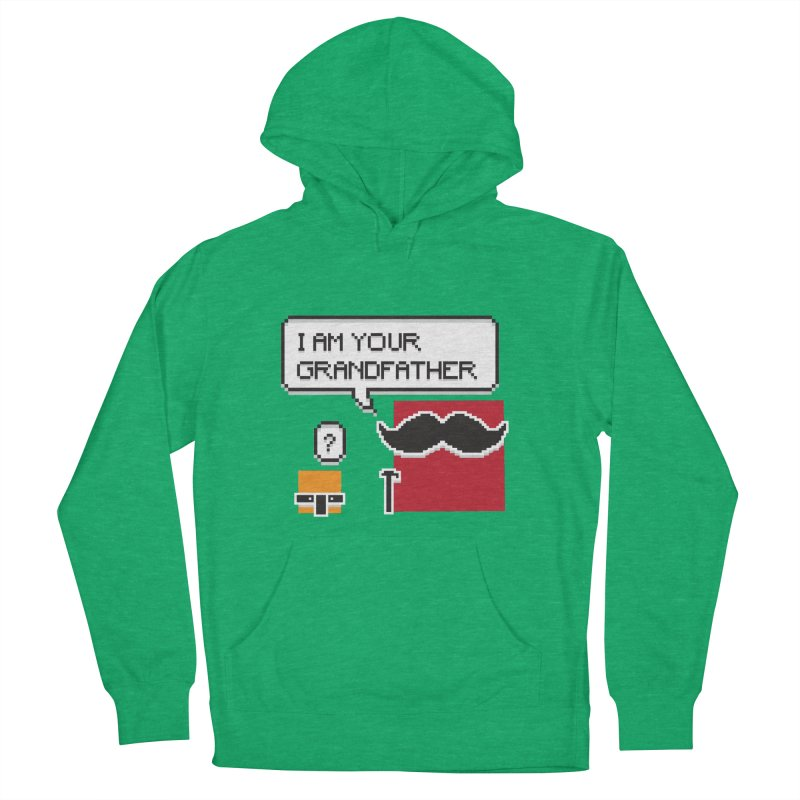 Says Megapixel Men's French Terry Pullover Hoody by Vectoran