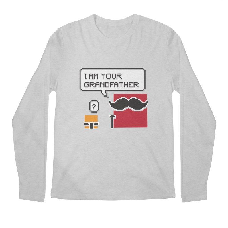 Says Megapixel Men's Longsleeve T-Shirt by Vectoran