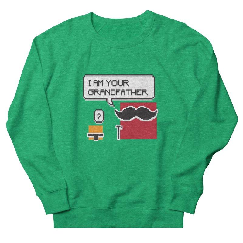 Says Megapixel Men's French Terry Sweatshirt by Vectoran