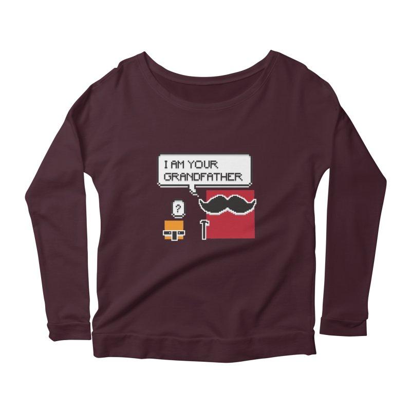 Says Megapixel Women's Longsleeve T-Shirt by Vectoran