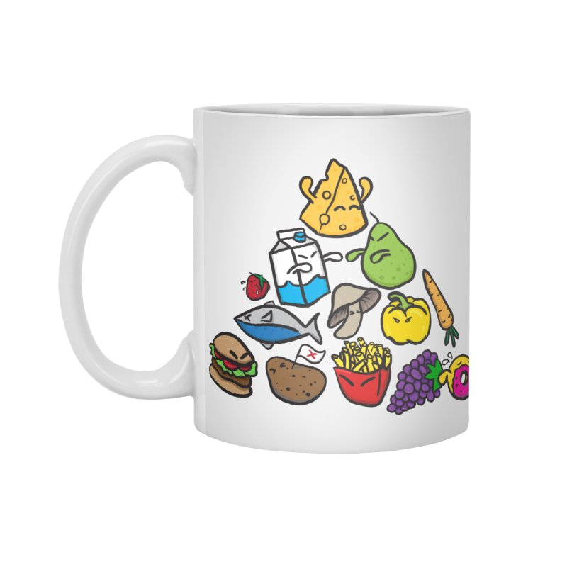 Imbalance Diet Accessories Standard Mug by Vectoran