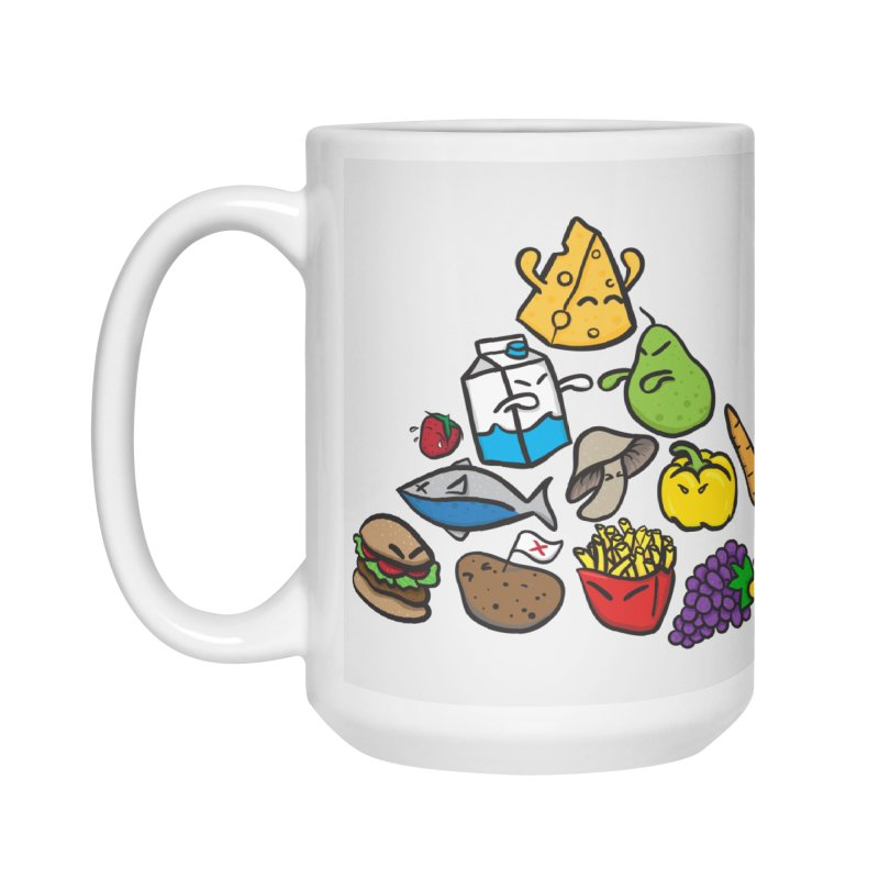 Imbalance Diet Accessories Mug by Vectoran