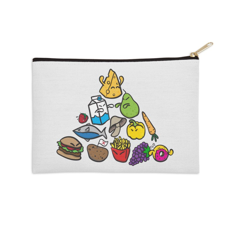 Imbalance Diet Accessories Zip Pouch by Vectoran