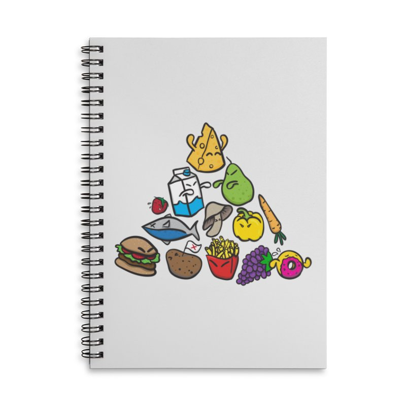 Imbalance Diet Accessories Notebook by Vectoran
