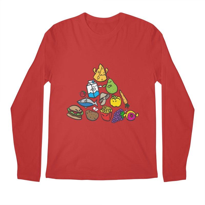 Imbalance Diet Men's Longsleeve T-Shirt by Vectoran