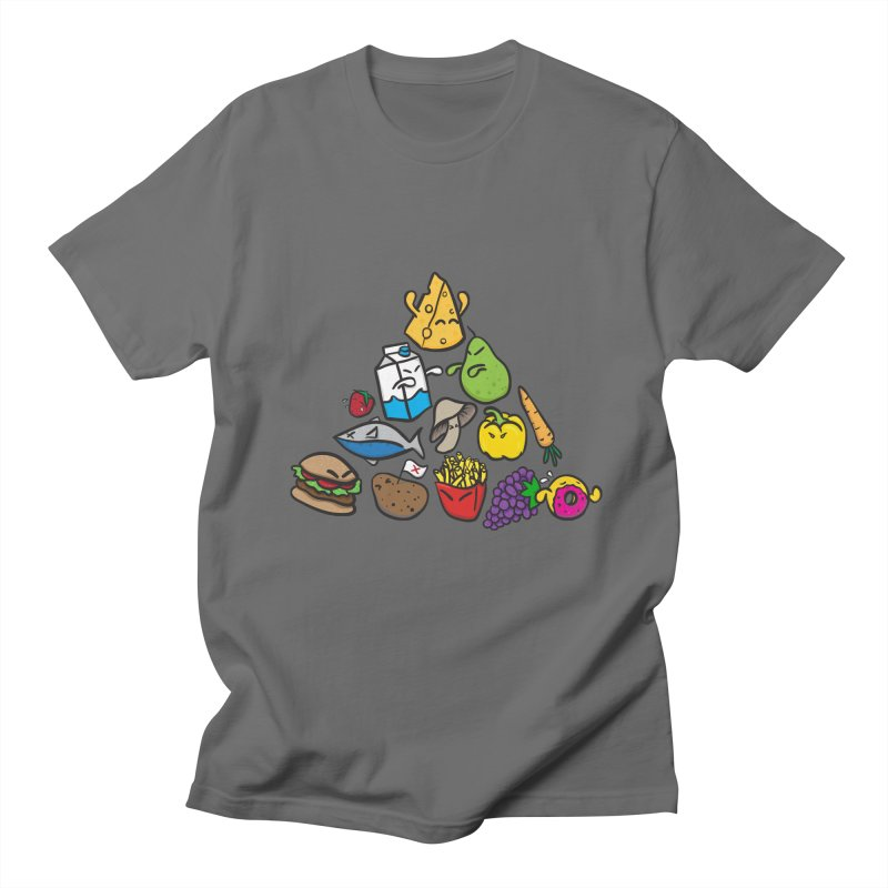 Imbalance Diet Men's T-Shirt by Vectoran