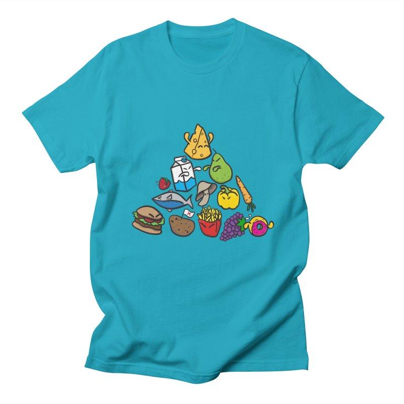 Imbalance Diet Men's T-Shirt by Vectoran