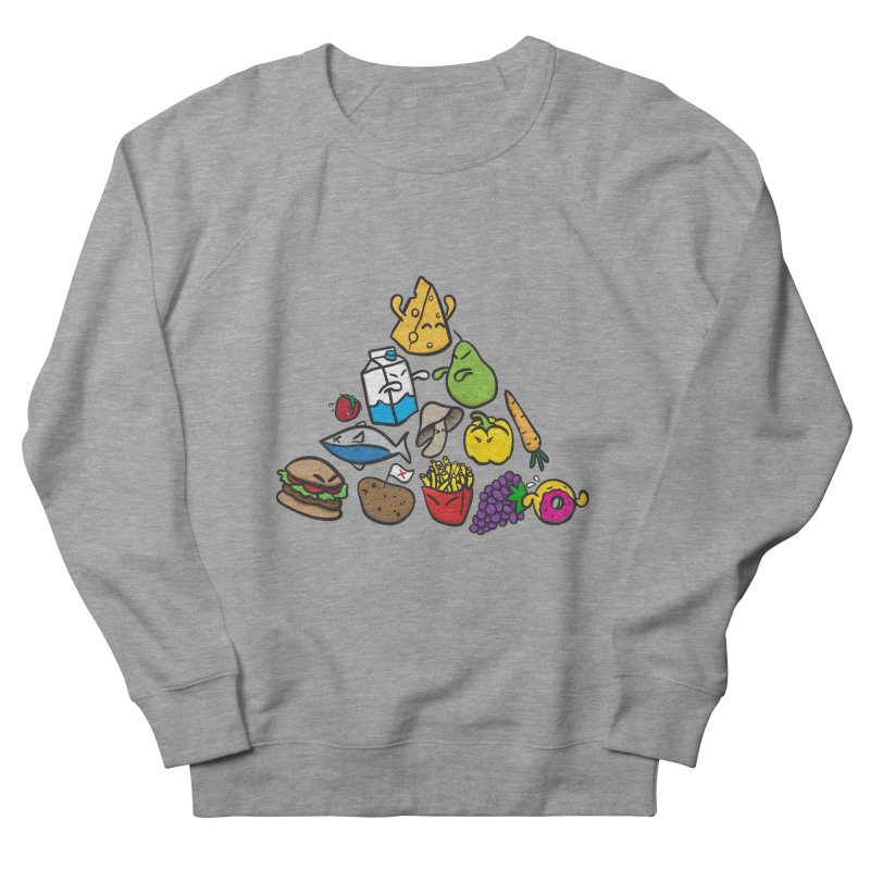 Imbalance Diet Women's French Terry Sweatshirt by Vectoran
